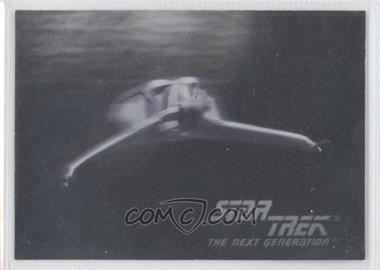 1992 Impel Star Trek The Next Generation - Holograms #01H - Klingon Bird-Of-Prey