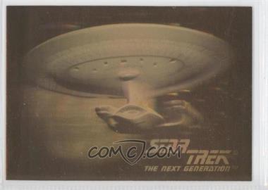 1992 Impel Star Trek The Next Generation - Holograms #05H - U.S.S. Enterprise