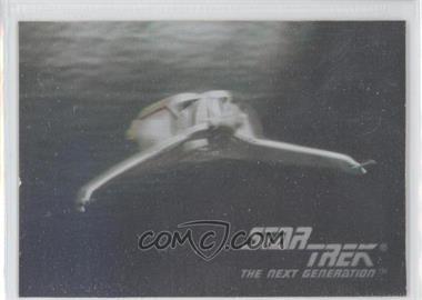 1992 Impel Star Trek The Next Generation Holograms #01H - Klingon Bird-Of-Prey