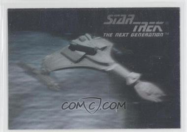 1992 Impel Star Trek The Next Generation Holograms #02H - Klingon Vor'Cha Class Attack Cruiser
