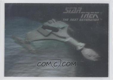 1992 Impel Star Trek The Next Generation Holograms #02H - Klingon Vor'Cha Class Attack Cruiser