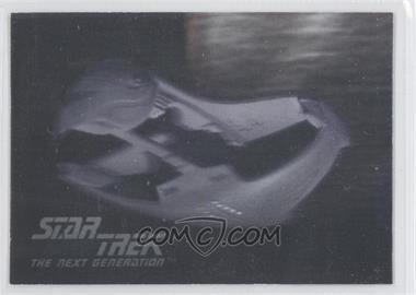 1992 Impel Star Trek The Next Generation Holograms #03H - Romulan Warbird