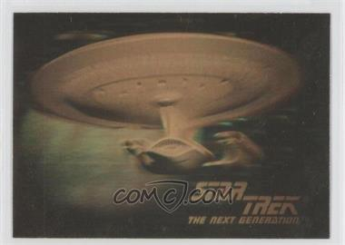 1992 Impel Star Trek The Next Generation Holograms #05H - U.S.S. Enterprise