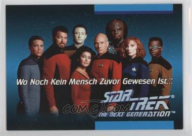 1992 Impel Star Trek: The Next Generation Inaugural Edition - Language Cards #01C - German