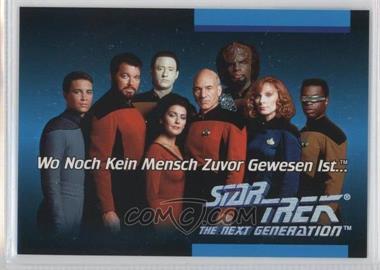 1992 Impel Star Trek: The Next Generation Inaugural Edition Language Cards #01C - German