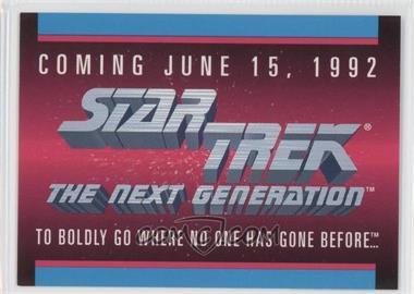 1992 Impel Star Trek The Next Generation Sample #N/A - [Missing]