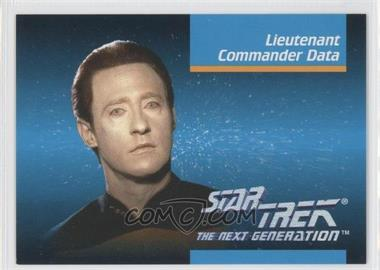 1992 Impel Star Trek The Next Generation #00B - Lieutenant Commander Data