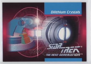 1992 Impel Star Trek The Next Generation #00C - Dilithium Crystals