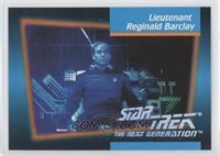 Lieutenant Reginald Barclay