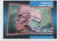Prosthetics/creature Shop
