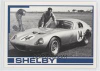 Carroll Shelby with Daytona Coupe