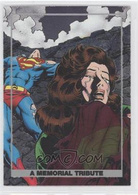 1992 SkyBox Doomsday: The Death of Superman [???] #S4 - Superman