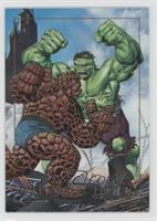 Thing vs. Hulk