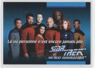 1992 Star Trek The Next Generation French #10D - [Missing]