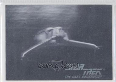 1992 Star Trek The Next Generation Hologram #01H - Klingon Bird-Of-Prey