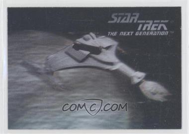 1992 Star Trek The Next Generation Hologram #02H - Klingon Vor'Cha Class Attack Cruiser