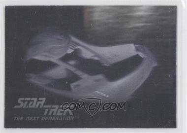 1992 Star Trek The Next Generation Hologram #03H - Romulan Warbird