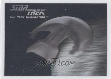 1992 Star Trek The Next Generation Hologram #04H - Ferengi Marauder