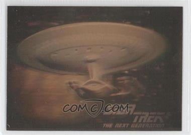 1992 Star Trek The Next Generation Hologram #05H - U.S.S. Enterprise