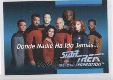 1992 Star Trek The Next Generation Spanish #01B - [Missing]