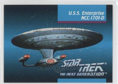 1992 Star Trek The Next Generation #OOA - U.s.s. Enterprise Ncc-1701-d