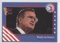 Bush on Issues, The Economy (George H.W. Bush)