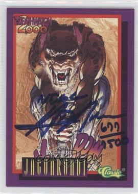 1993 Classic Deathwatch 2000 Autographs #N/A - Jaguarundi /7500