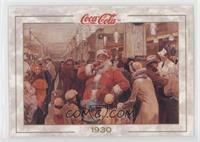 1st Santa Claus Advertisement