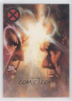 Magneto vs Professor X