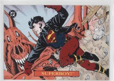 1993 SkyBox DC Bloodlines Embossed Foil #S4 - [Missing]