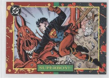 1993 SkyBox DC Bloodlines Promos #P4 - [Missing]