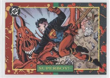 1993 SkyBox DC Bloodlines Promos #P4 - Superboy!