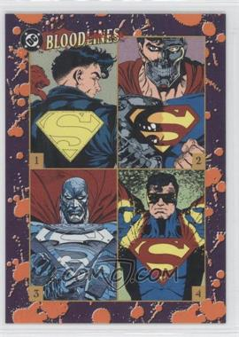 1993 SkyBox DC Bloodlines Promos #PNoN - Superman