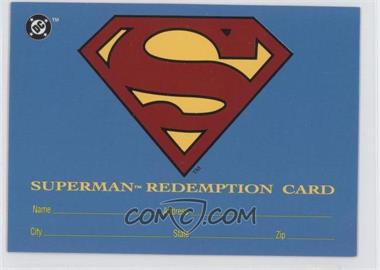 1993 SkyBox DC Bloodlines Real Superman Redemption Card #S5 - [Missing]
