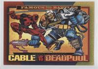 Cable Vs. Deadpool
