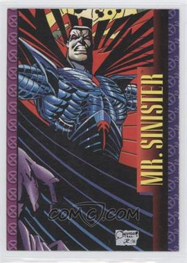 1993 SkyBox Marvel X-Men: Series 2 #51 - Mr. Sinister