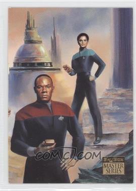 1993 SkyBox Master Series Star Trek - [Base] #F7 - [Missing]