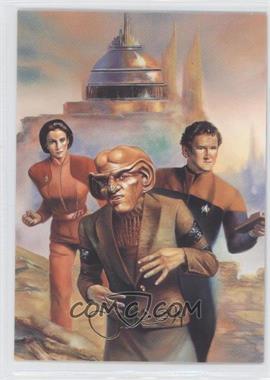 1993 SkyBox Master Series Star Trek - [Base] #F8 - The Crew of Deep Space Nine