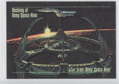 1993 SkyBox Master Series Star Trek - Spectra #S-1 - Docking at Deep Space Nine