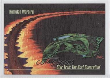 1993 SkyBox Master Series Star Trek - Spectra #S-2 - Romulan Warbird