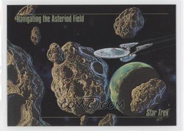 1993 SkyBox Master Series Star Trek - Spectra #S-3 - Navigating the Asteroid Field