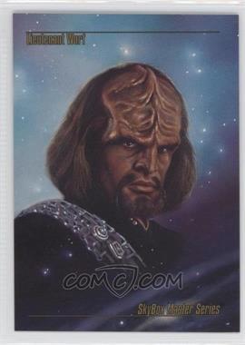 1993 SkyBox Master Series Star Trek Prototypes #N/A - Lt. Worf