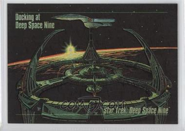 1993 SkyBox Master Series Star Trek Spectra #S-1 - Docking at Deep Space Nine