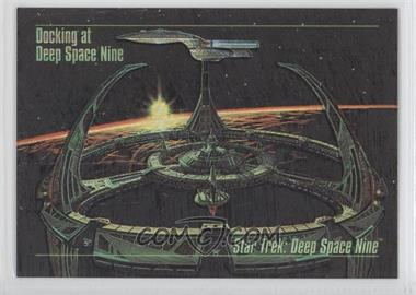 1993 SkyBox Master Series Star Trek Spectra #S-1 - Docking at Deep Space Nine