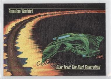1993 SkyBox Master Series Star Trek Spectra #S-2 - Romulan Warbird