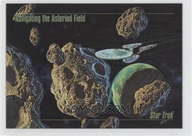 1993 SkyBox Master Series Star Trek Spectra #S-3 - Navigating the Asteroid Field