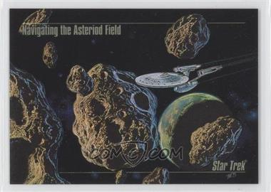 1993 SkyBox Master Series Star Trek Spectra #S-3 - Navigating the Asteroid Field