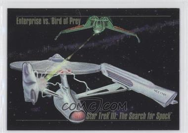 1993 SkyBox Master Series Star Trek Spectra #S-4 - Enterprise vs. Bird of Prey