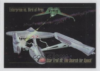 1993 SkyBox Master Series Star Trek Spectra #S-4 - [Missing]