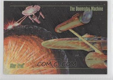 1993 SkyBox Master Series Star Trek Spectra #S-5 - [Missing]